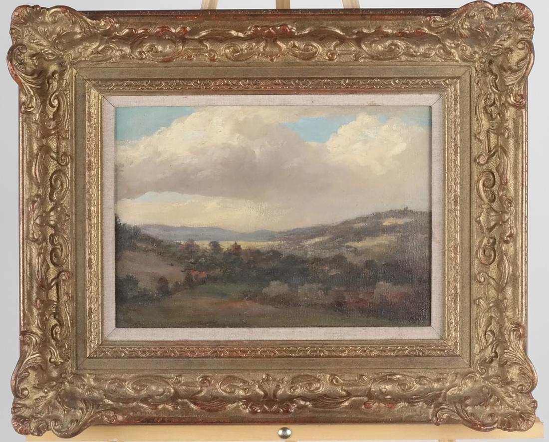 Pastoral Landscape Oil on Canvas - 2