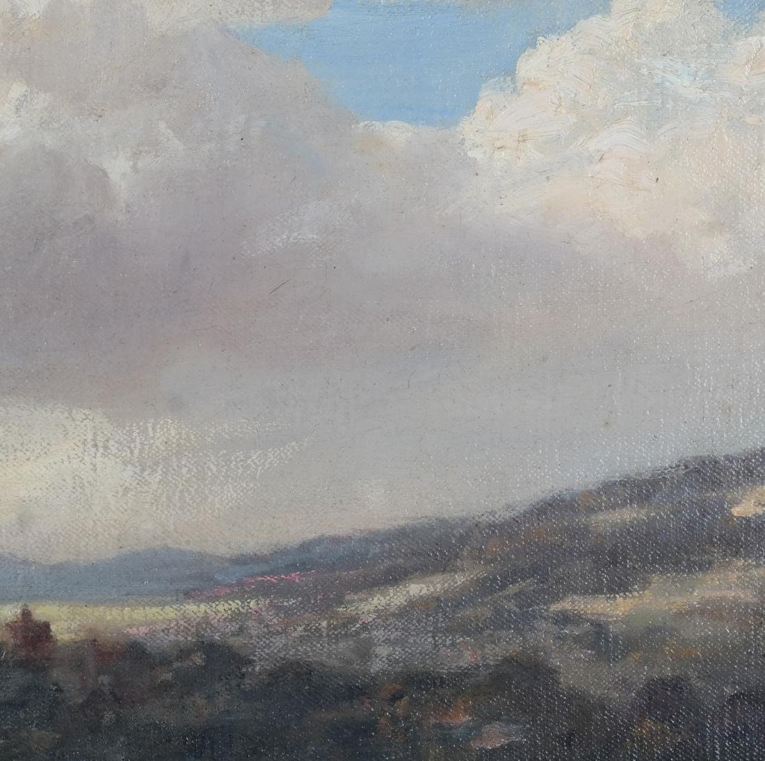 Pastoral Landscape Oil on Canvas - 3