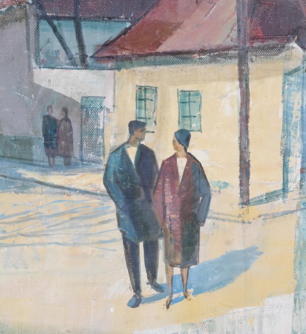 Modernist Figures - Oil on Canvas - 4