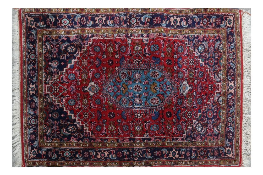 Persian-Style Decorated Rug