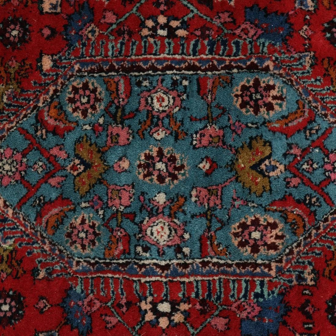 Persian-Style Decorated Rug - 4