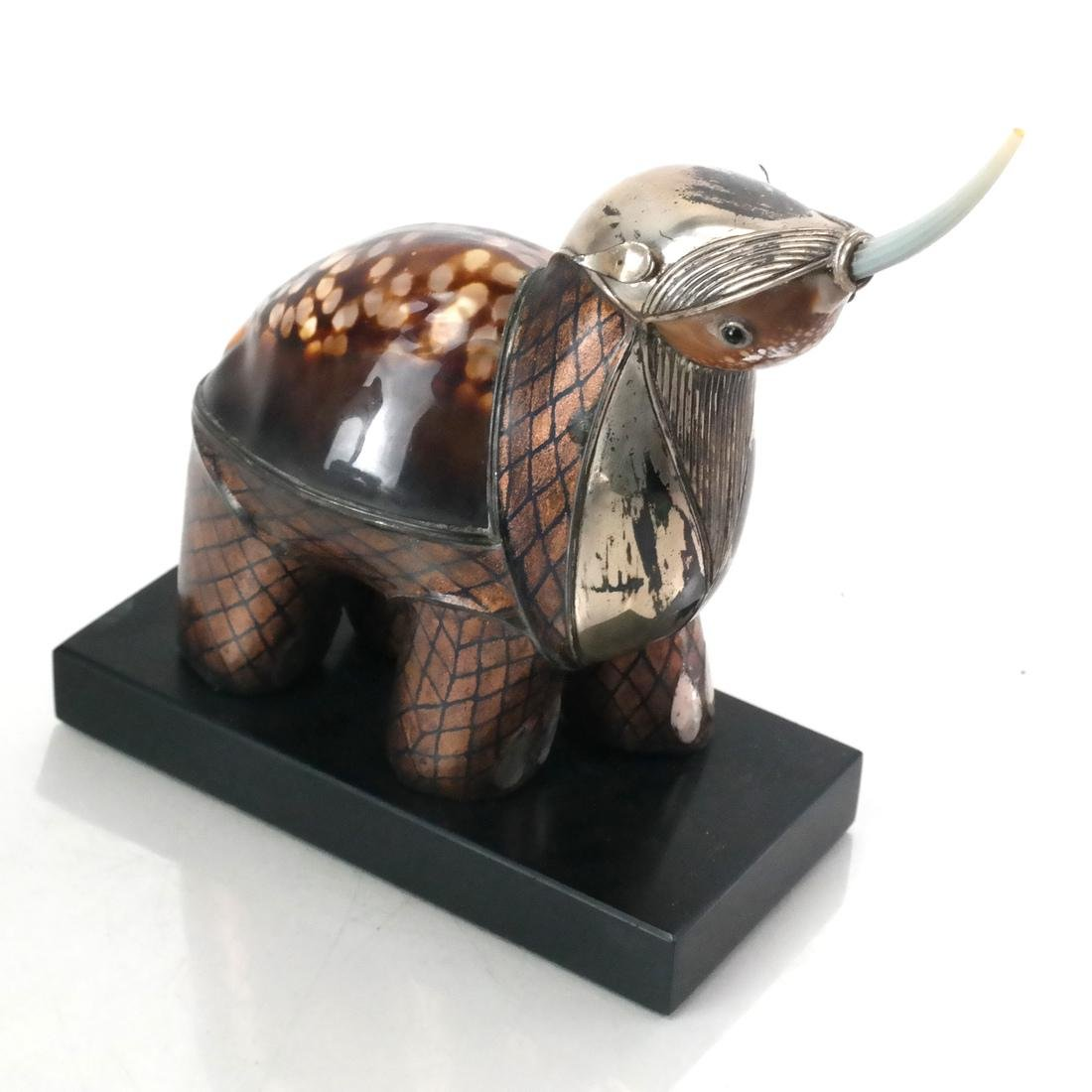 Roberto Estevez Rhino Sculpture