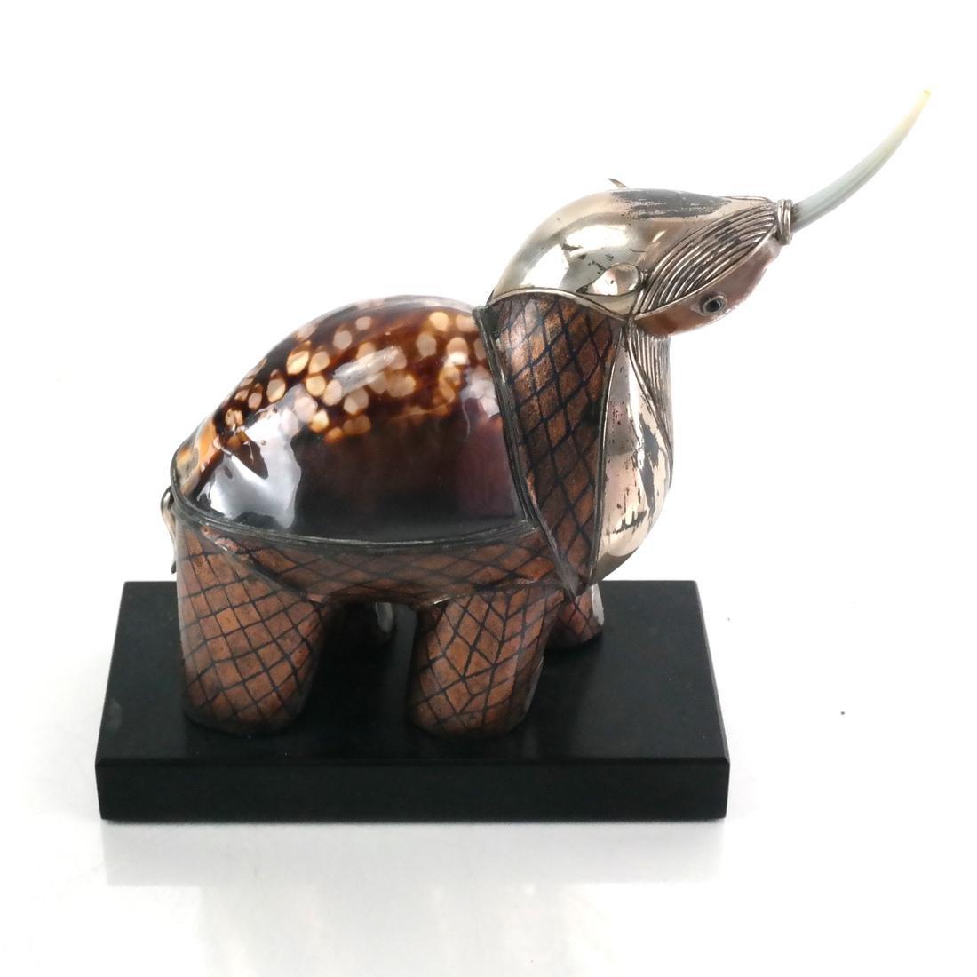 Roberto Estevez Rhino Sculpture - 2