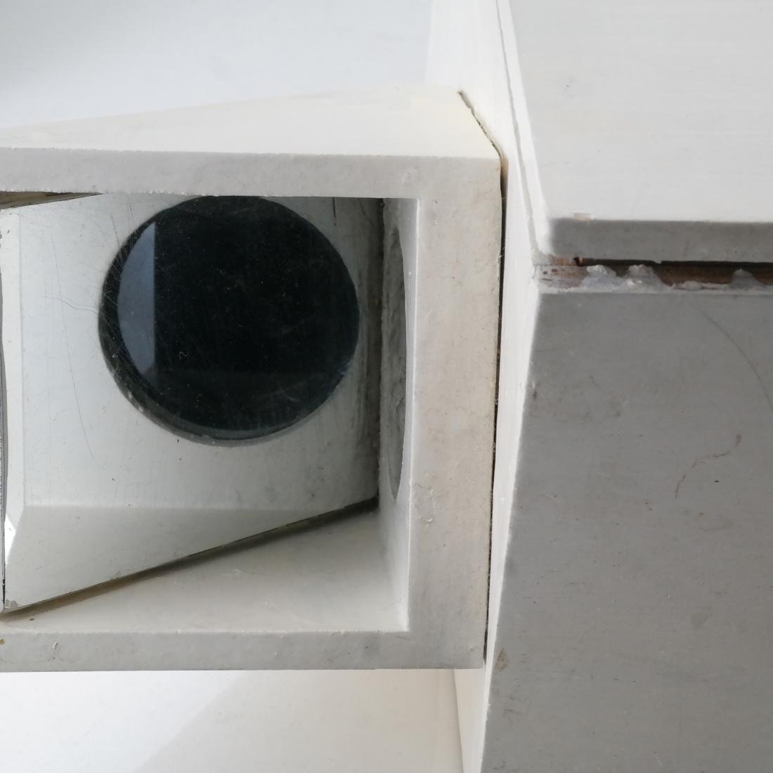 "Ted Victorio ""Projection Box"" Sculpture - 8"