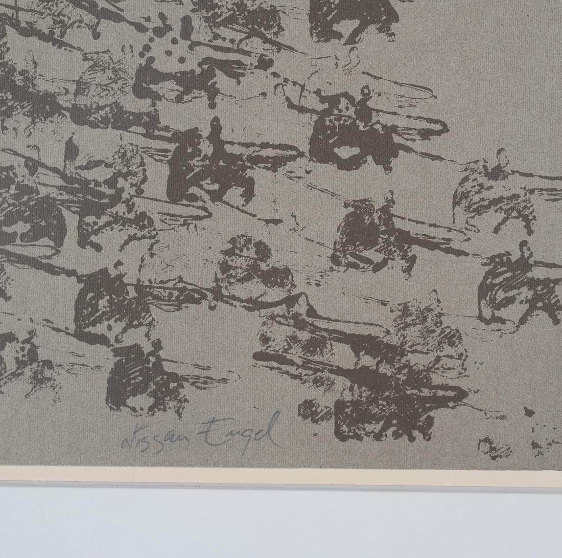 Nissan Engel Charging Soldiers Litho - 3