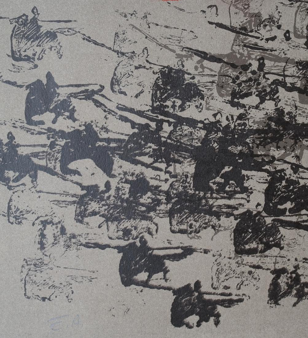 Nissan Engel Charging Soldiers Litho - 4