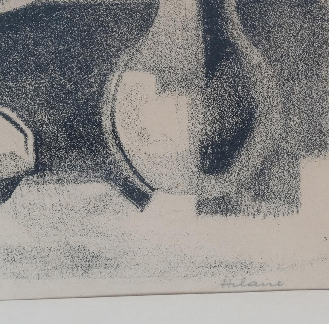 Hilaire, Woman Resting Pencil on Paper - 3
