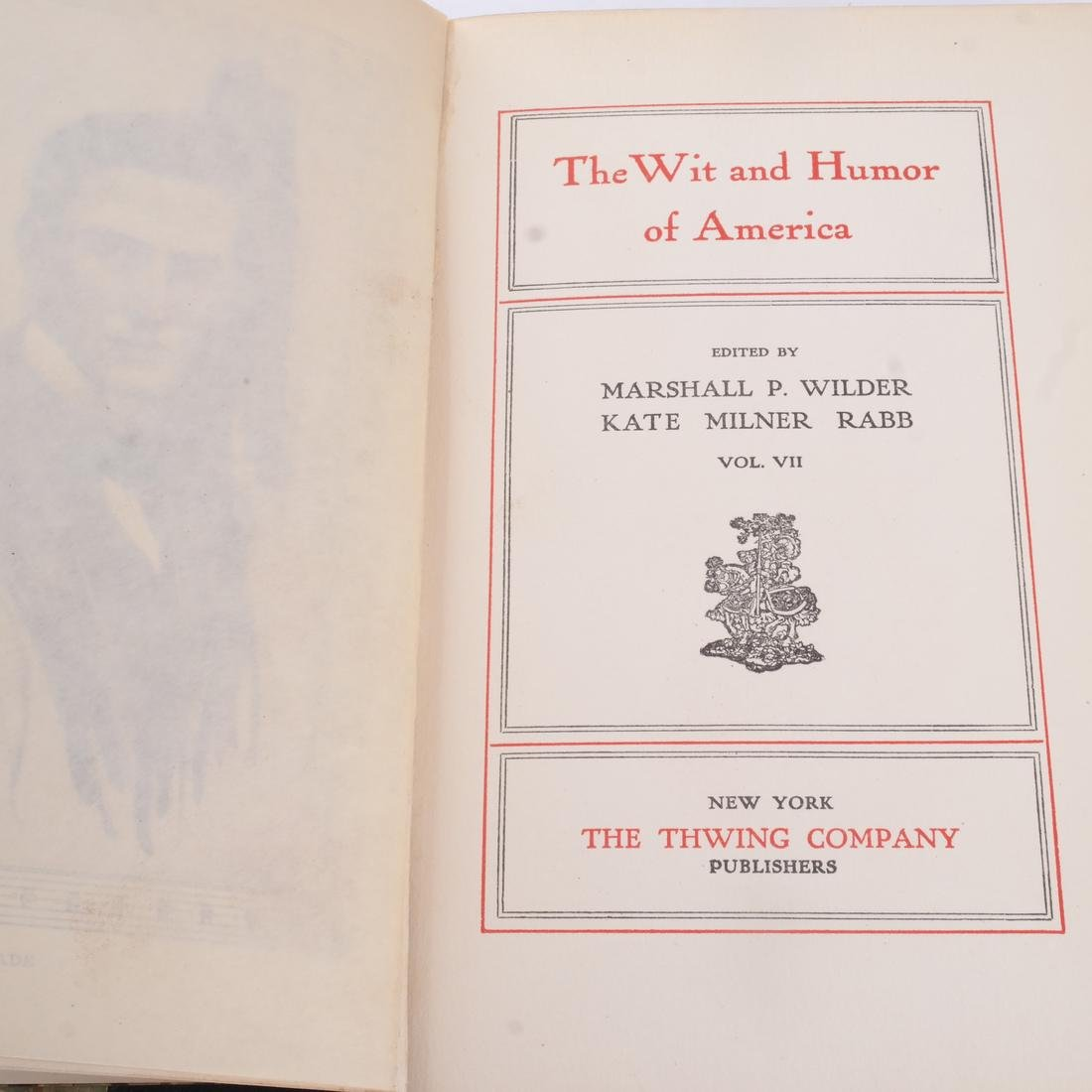 """Books: """"The Wit and Humor of America"""" 10 Vols. - 3"""