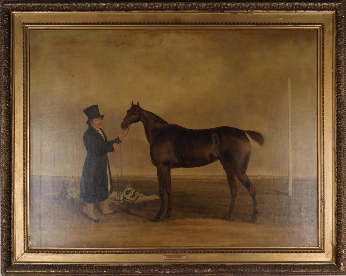After Edwin Cooper: Horse Scene and a Print - 2