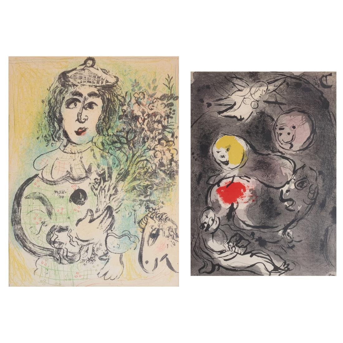 Two Marc Chagall Prints