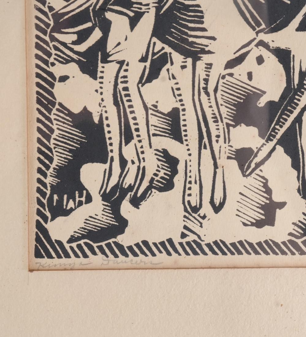 Molly Hand: Figures, Woodcut - 3