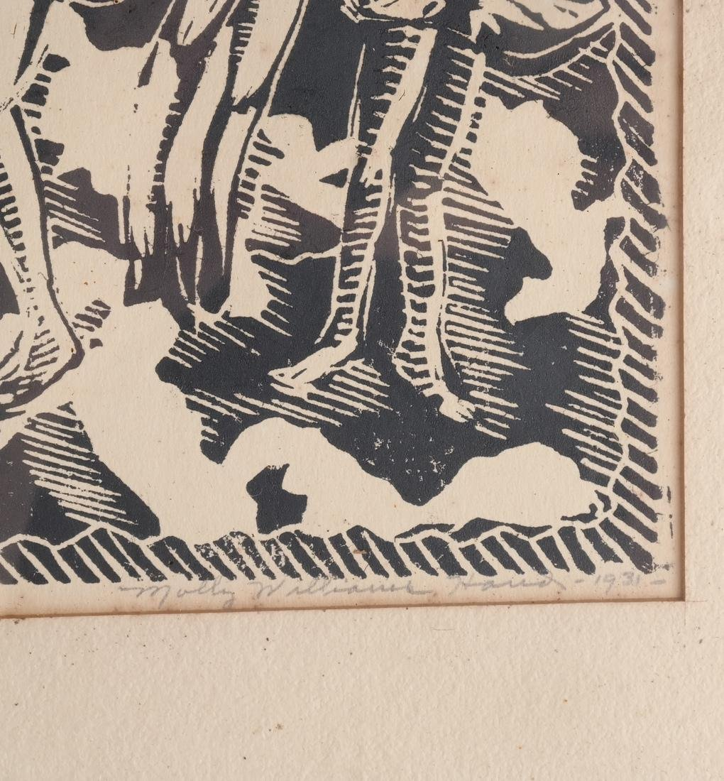 Molly Hand: Figures, Woodcut - 4