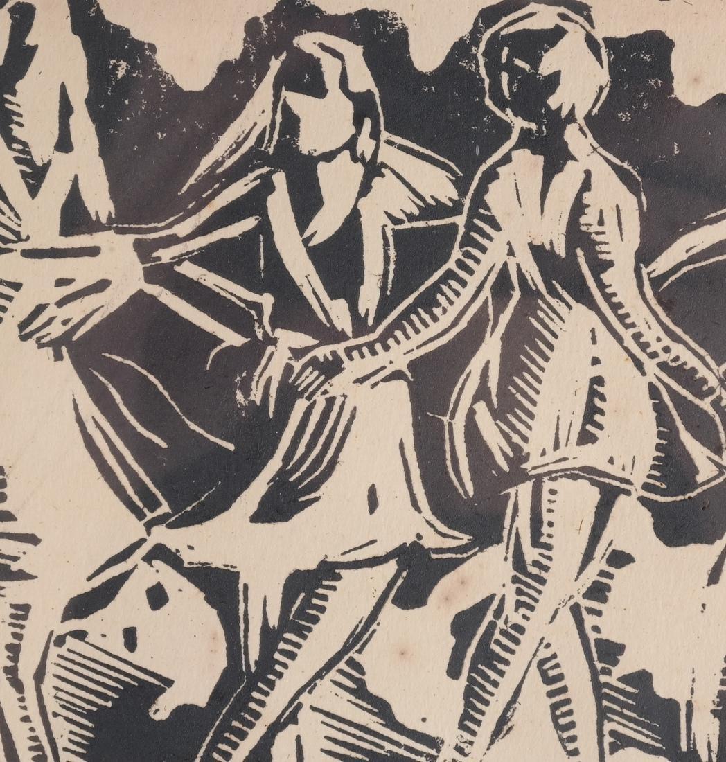 Molly Hand: Figures, Woodcut - 5
