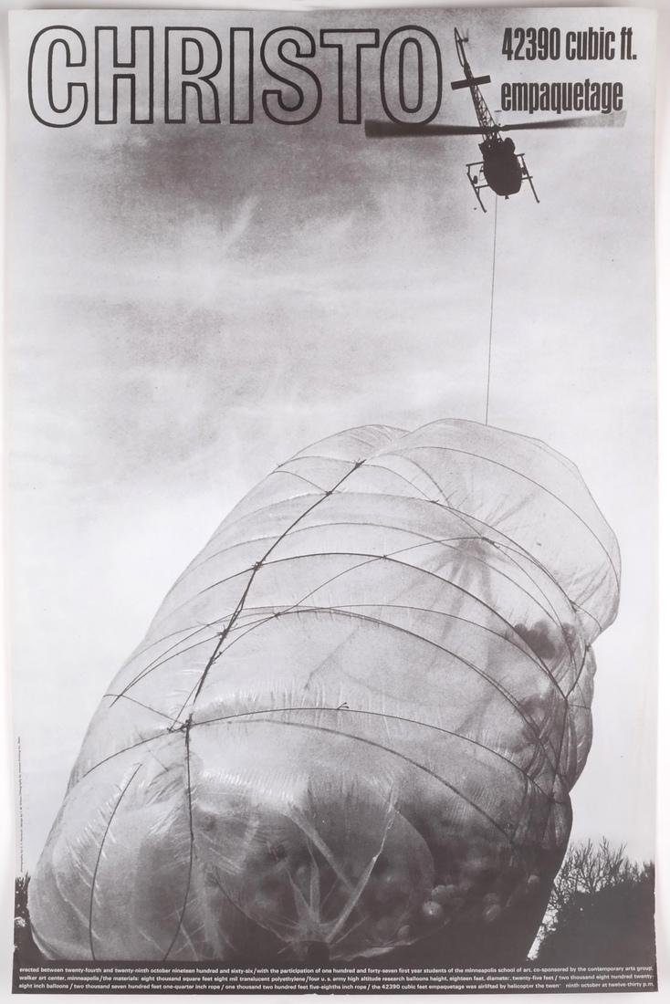 "Jean-Claude Christo: ""42390 Cubic Foot Em..."" - 2"