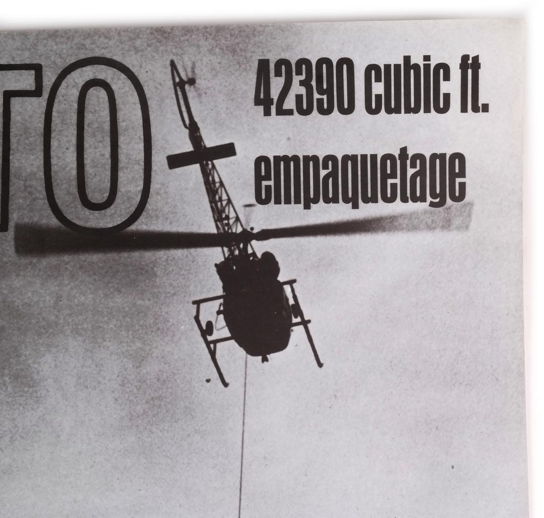 "Jean-Claude Christo: ""42390 Cubic Foot Em..."" - 4"