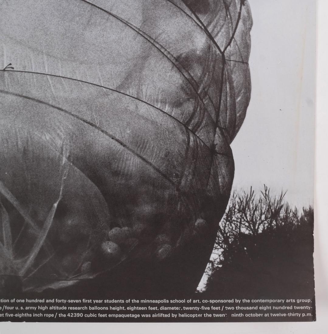 "Jean-Claude Christo: ""42390 Cubic Foot Em..."" - 6"