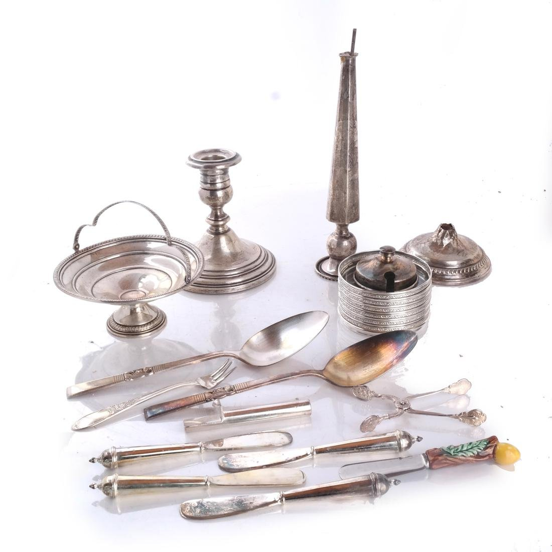 Collection Silver Weighted and Plated Articles