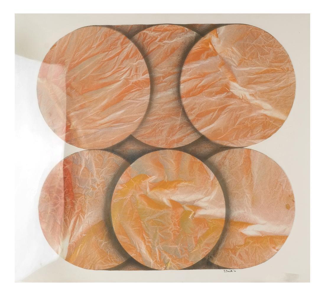 Shirley Smith, Disks - Mixed Media