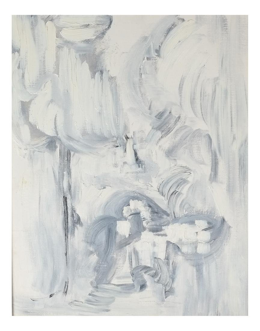 Abstract - Oil on Carton