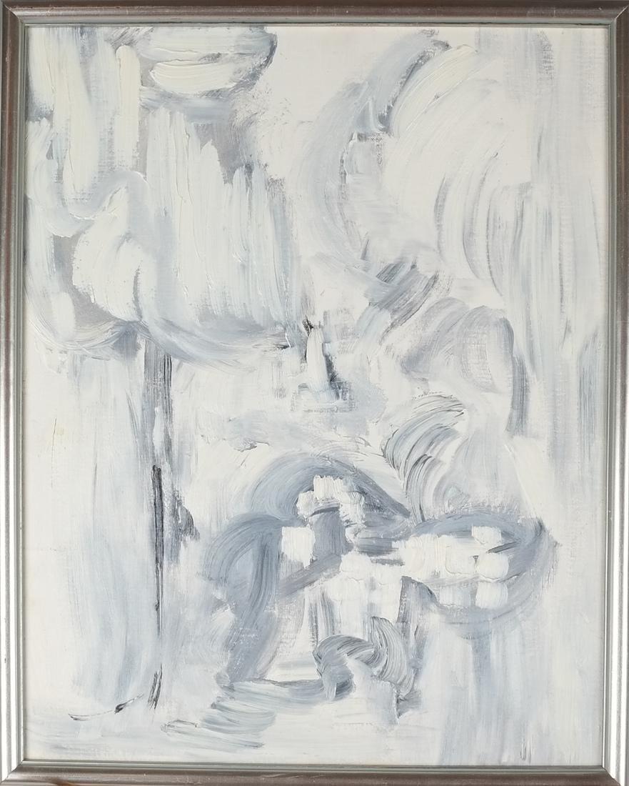 Abstract - Oil on Carton - 2