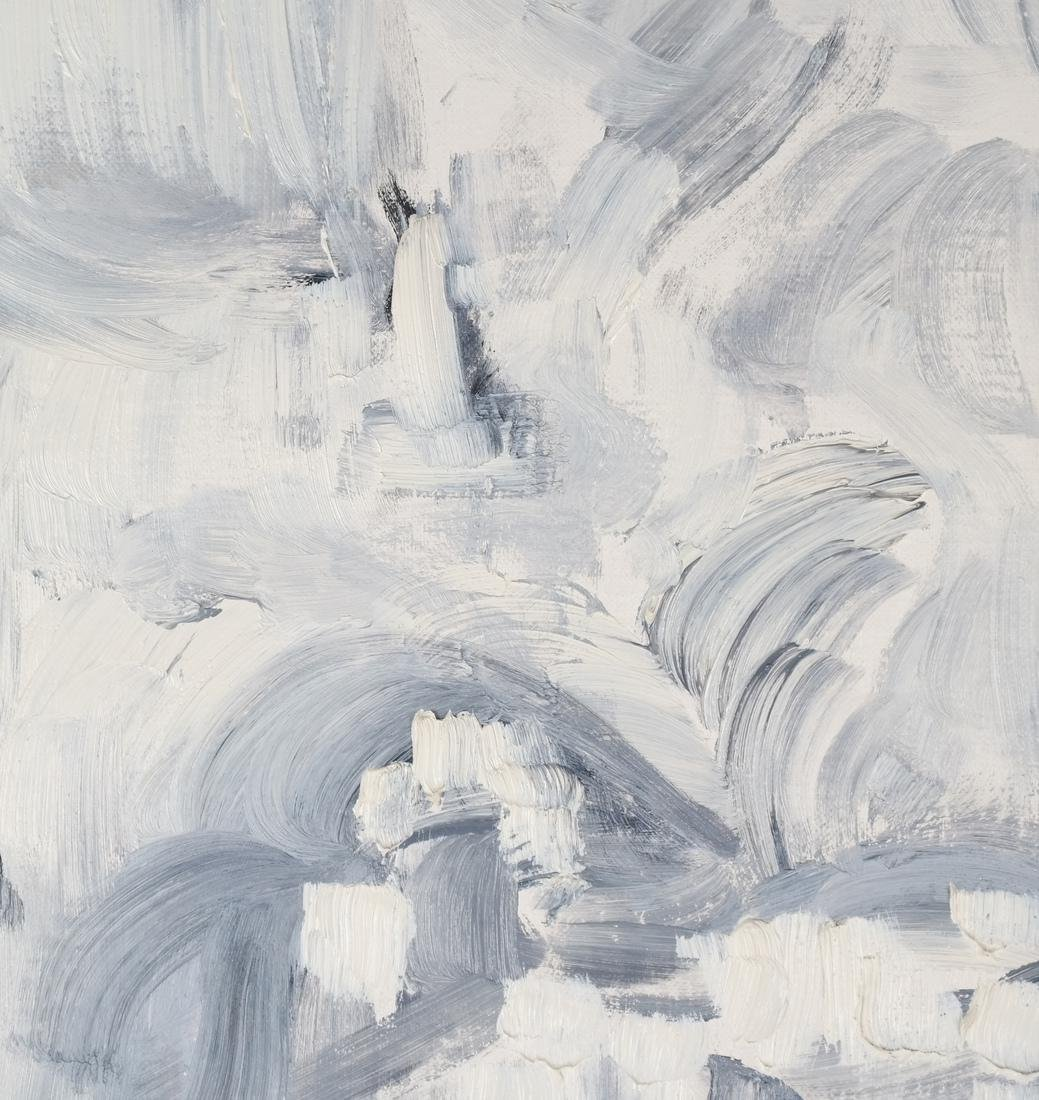 Abstract - Oil on Carton - 3