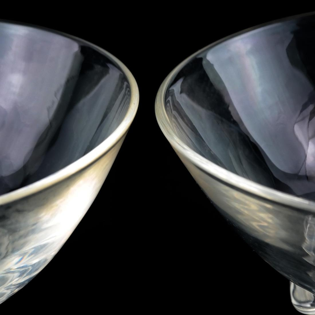 Four Glass Vessels, Signed Steuben - 5