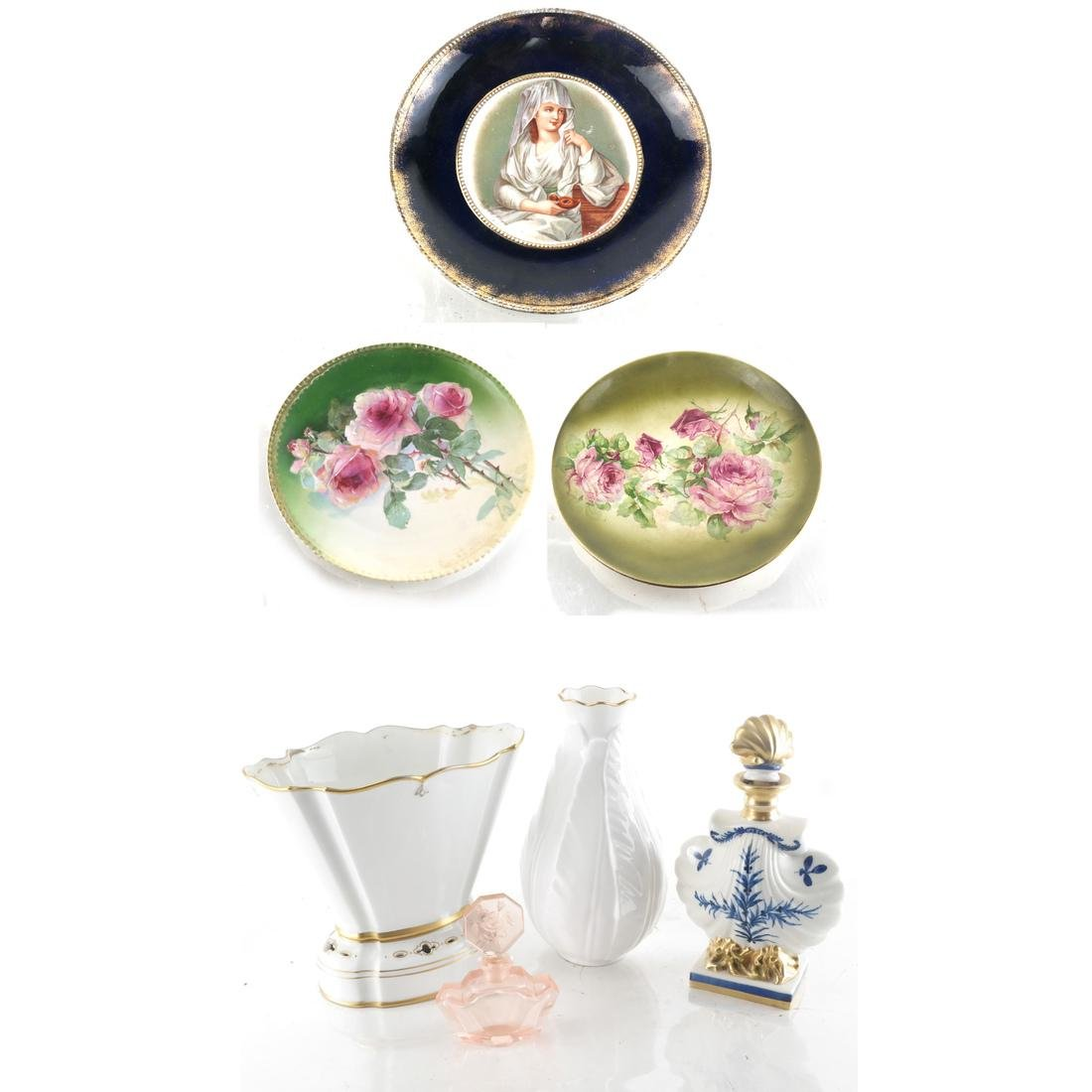 Group of Porcelain Decorative Items