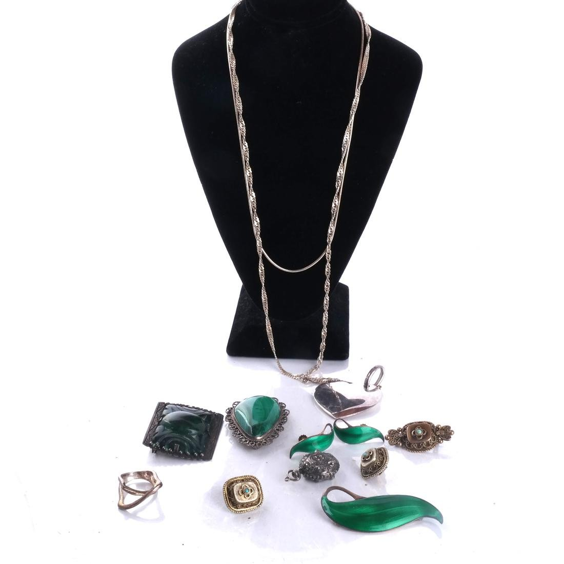 .925 Sterling Silver Norse, etc. Jewelry