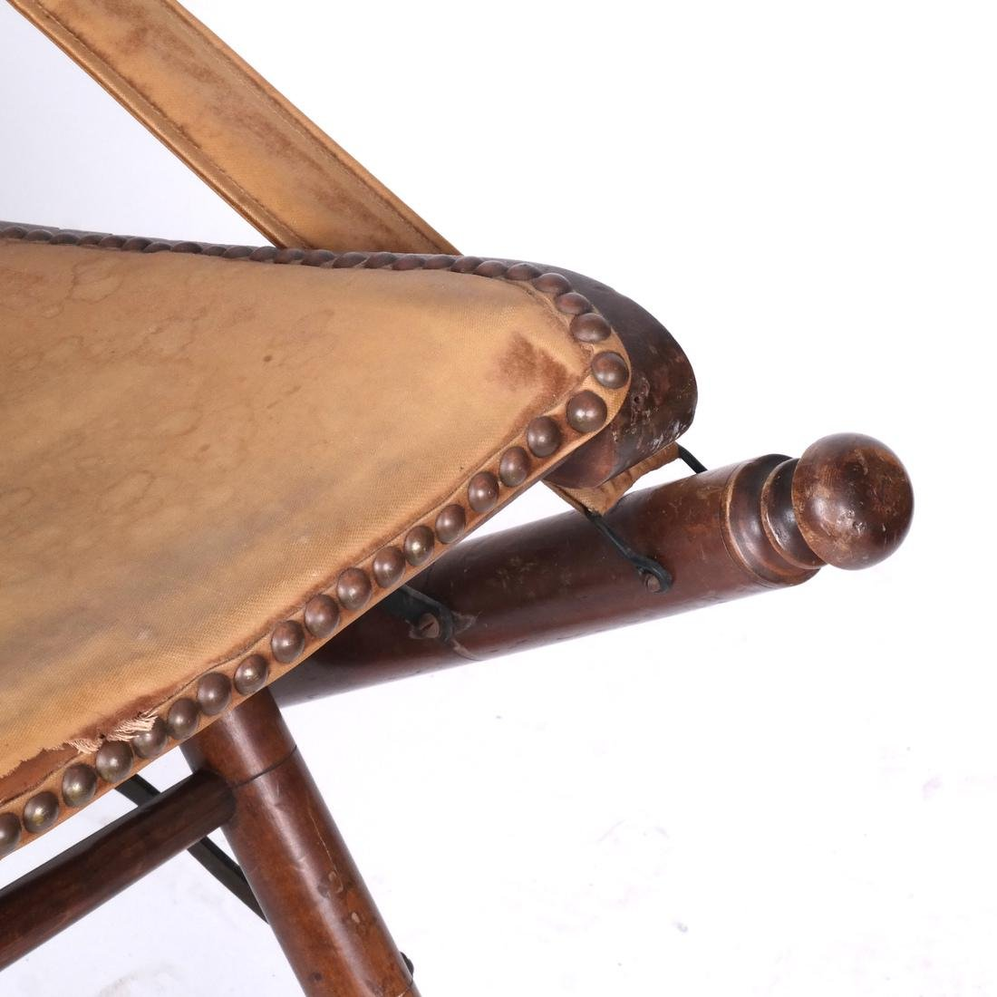 Bamboo Folding Captain's Chair - 3