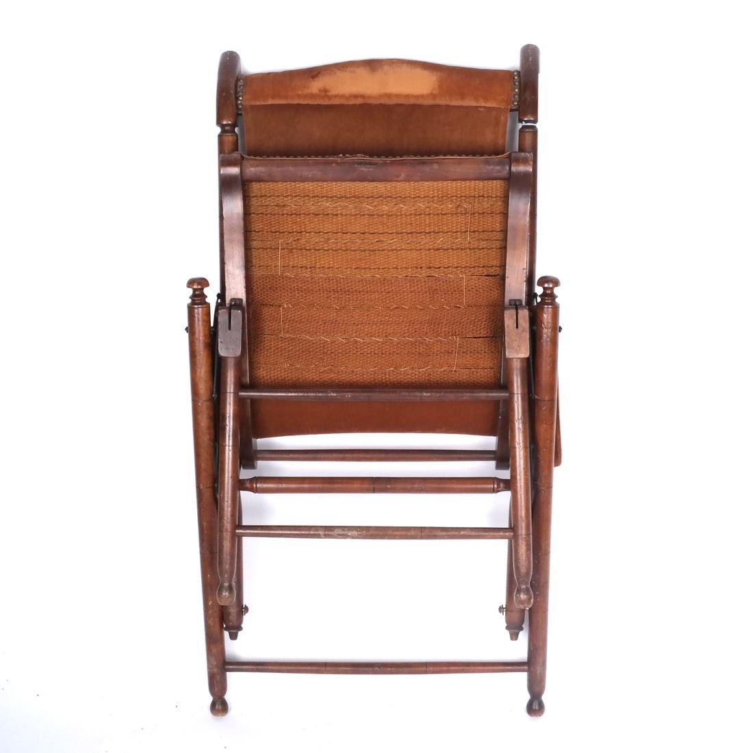 Bamboo Folding Captain's Chair - 8