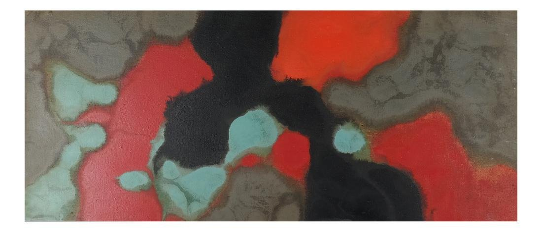 """Stanley Twardowicz, """"Floating"""" - O/C"""