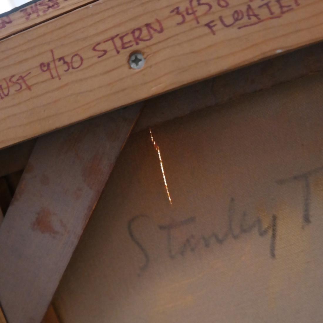 """Stanley Twardowicz, """"Floating"""" - O/C - 6"""