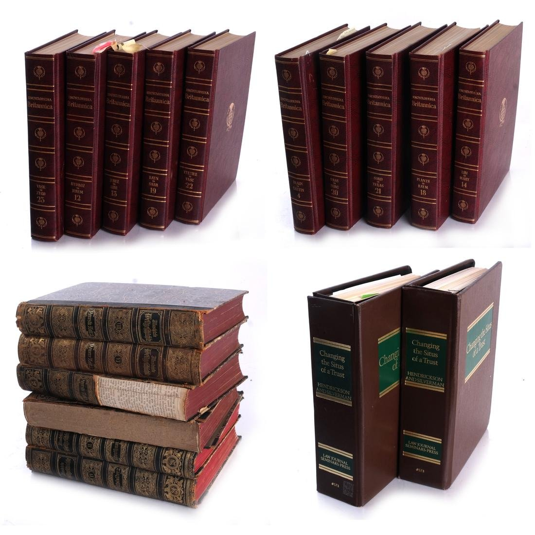 Books: Encyclopedia Britannica, Other