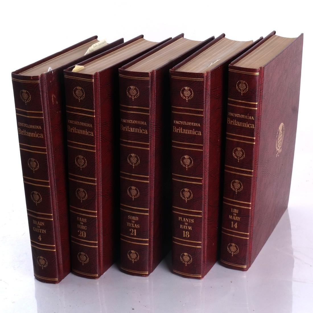 Books: Encyclopedia Britannica, Other - 4