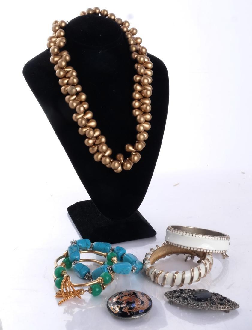 Bag of Costume Jewelry - 2