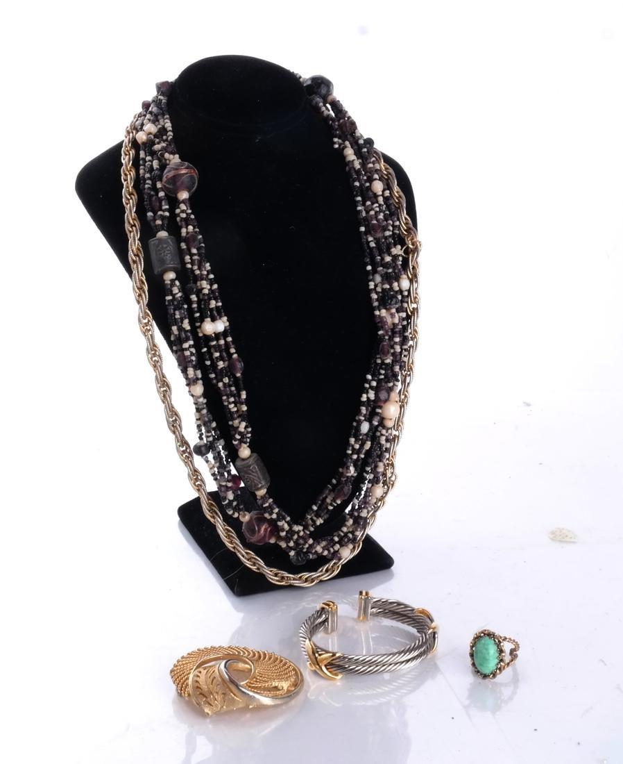 Bag of Costume Jewelry - 3