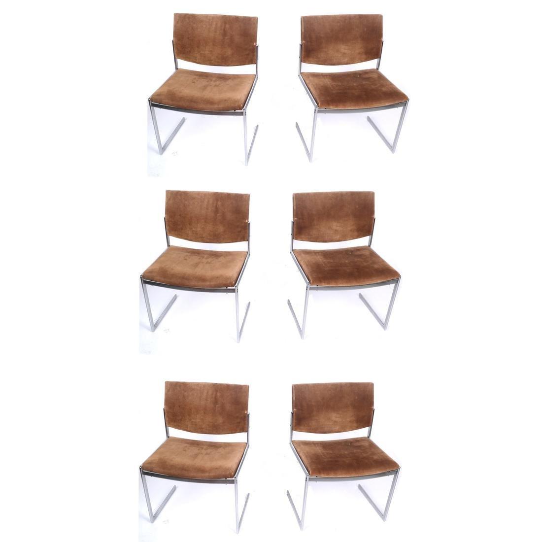 Six K-11 International Knoll-Manner Chairs