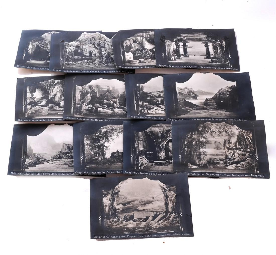 "Lot Postcards, Incl.""The Ring"", Bayreuth - 3"