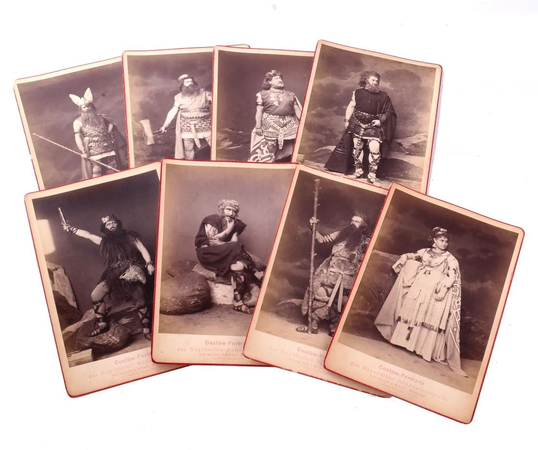 "Lot Postcards, Incl.""The Ring"", Bayreuth - 8"