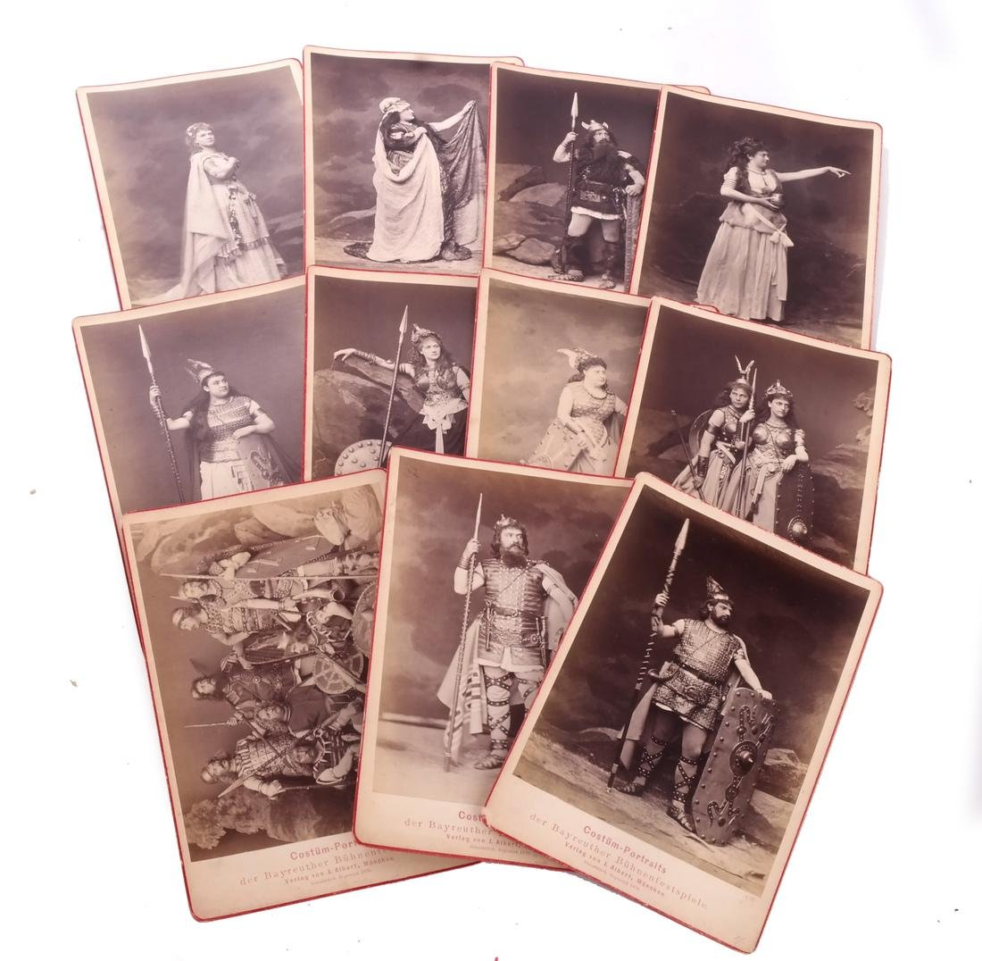 "Lot Postcards, Incl.""The Ring"", Bayreuth - 9"