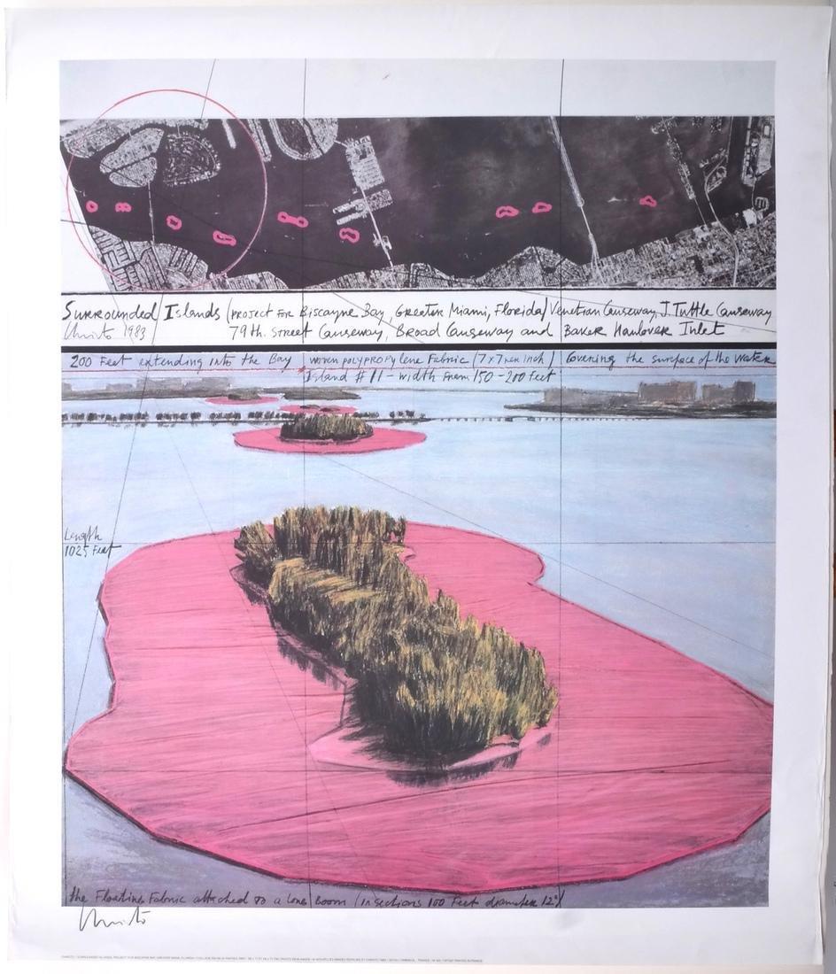"""Christo Litho """"Surrounded Islands"""" - 2"""