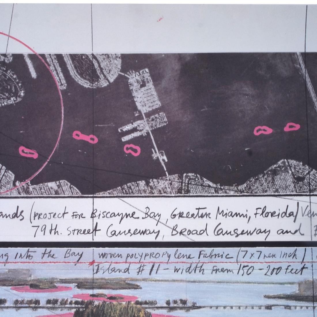 """Christo Litho """"Surrounded Islands"""" - 3"""