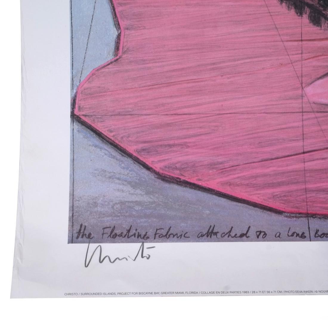 """Christo Litho """"Surrounded Islands"""" - 4"""