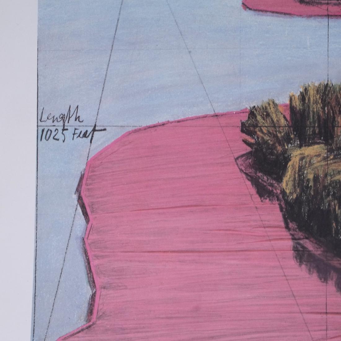 """Christo Litho """"Surrounded Islands"""" - 5"""