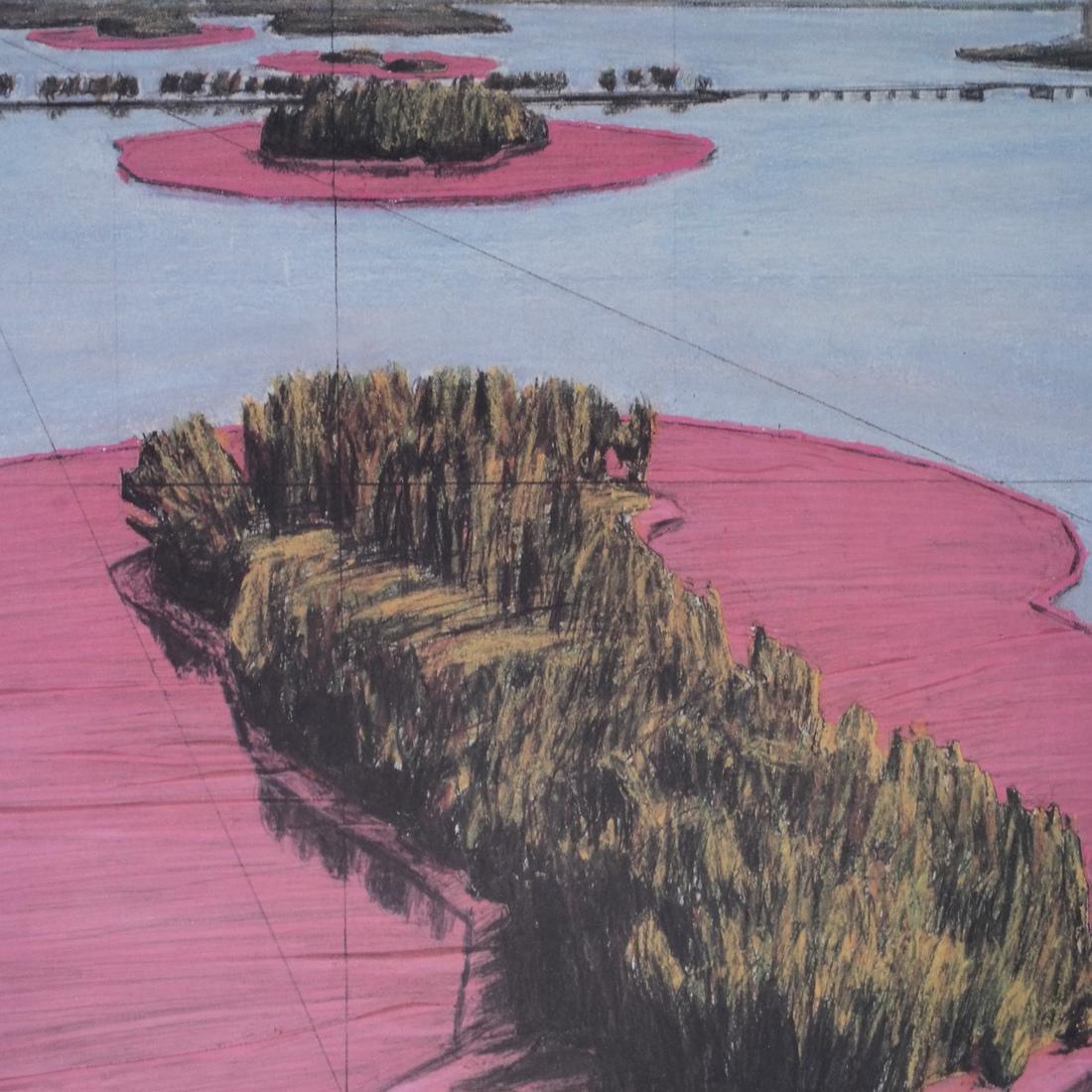 """Christo Litho """"Surrounded Islands"""" - 6"""