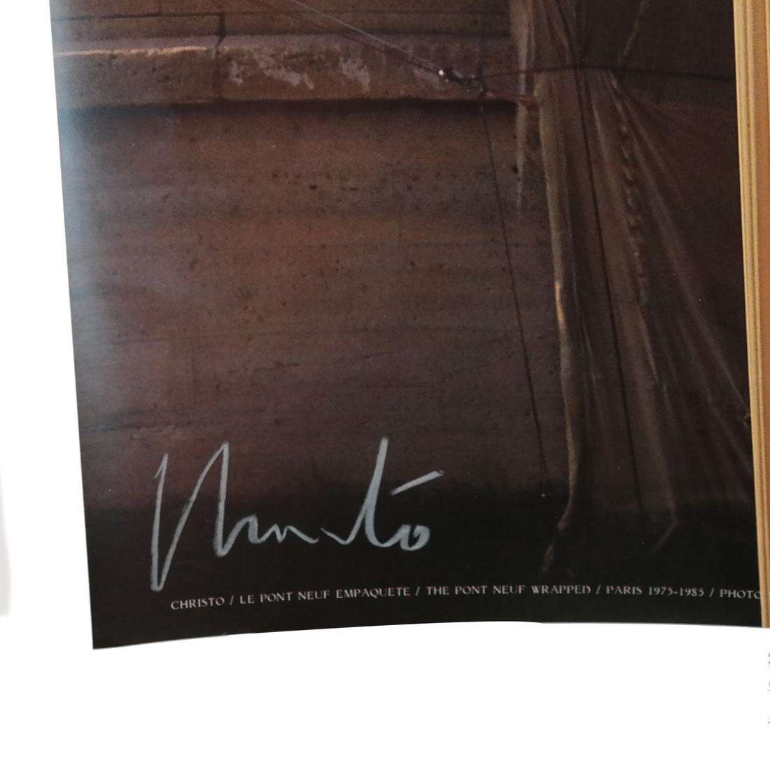 "J-C Christo ""Pont Neuf Wrapped"" Photo - 2"
