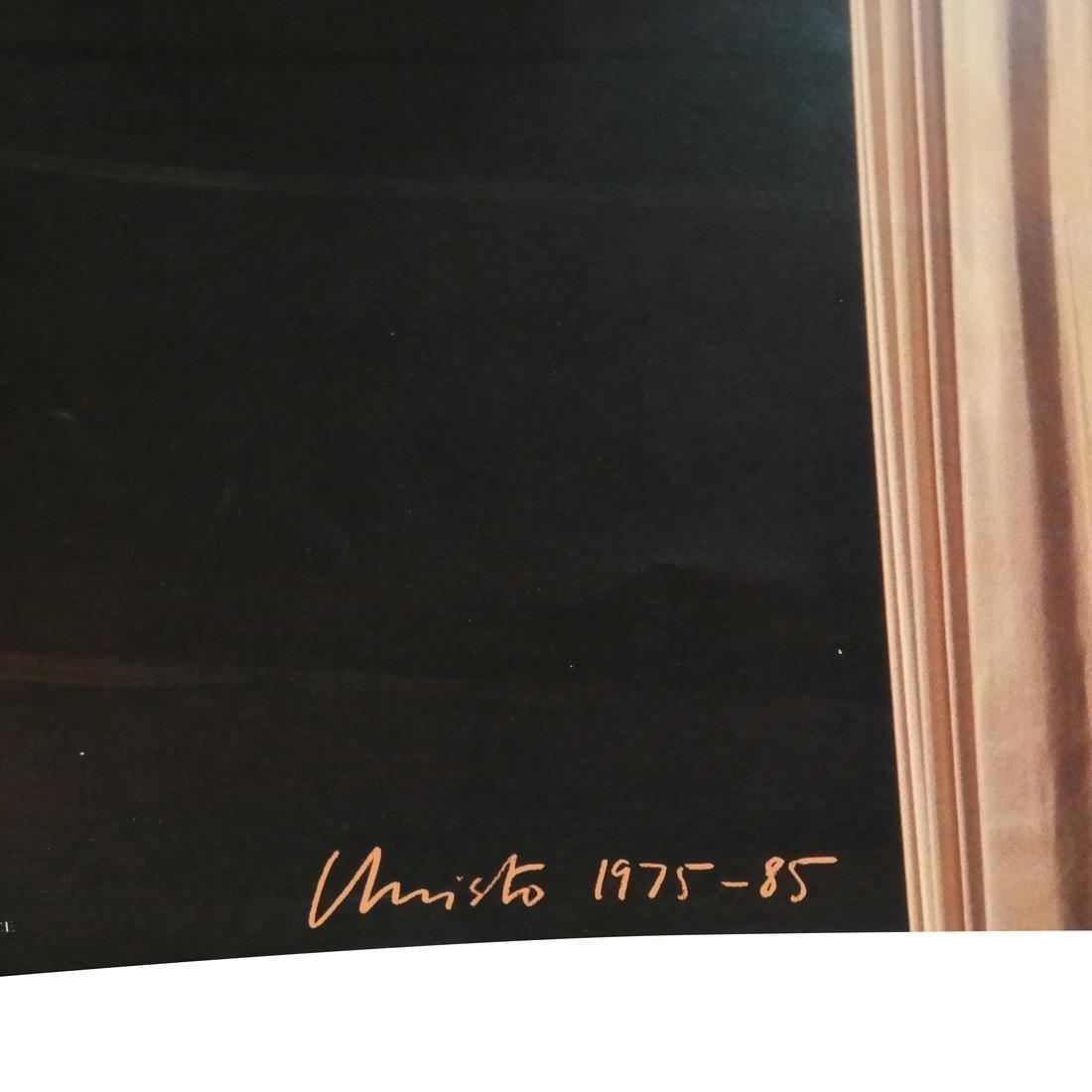 "J-C Christo ""Pont Neuf Wrapped"" Photo - 3"
