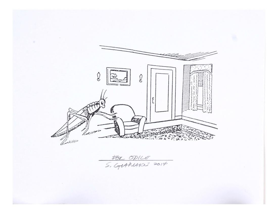 Steve Gianakos Two Inscribed Prints - 2