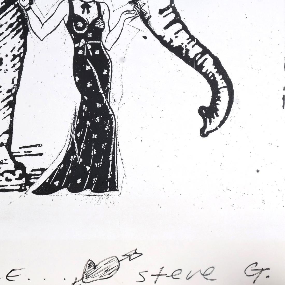 Steve Gianakos Two Inscribed Prints - 5