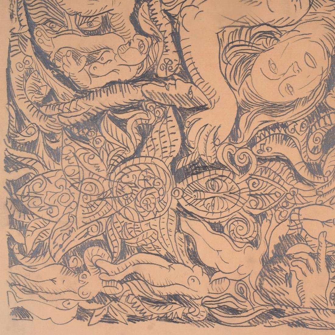 George Chemeche Graphite on Paper - 3